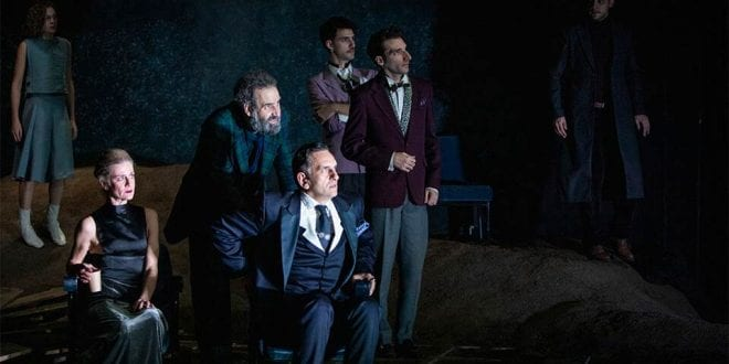 Άμλετ Ουίλλιαμ Σαίξπηρ Αμφι-Θέατρο Σπύρου Ευαγγελάτου