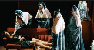 θέατρο Τέχνης Τριαντάφυλλο στο στήθος
