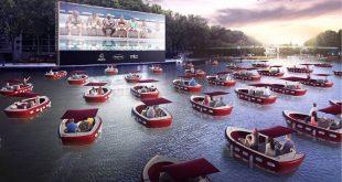 Παρίσι: Ο Σηκουάνας μετατρέπεται σε ένα μοναδικό πλωτό θερινό σινεμά!