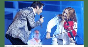 Μάγεψαν στο Βεάκειο η Ευανθία Ρεμπούτσικα η Λίνα Νικολακοπούλου & ο Γιώργος Περρής