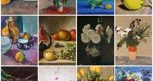 Λουλούδια έργα ζωγράφων