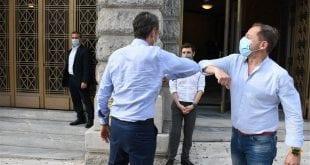 Κυριάκος Μητσοτάκης: Ο Πρωθυπουργός στην Επίδαυρο για τους «Πέρσες»