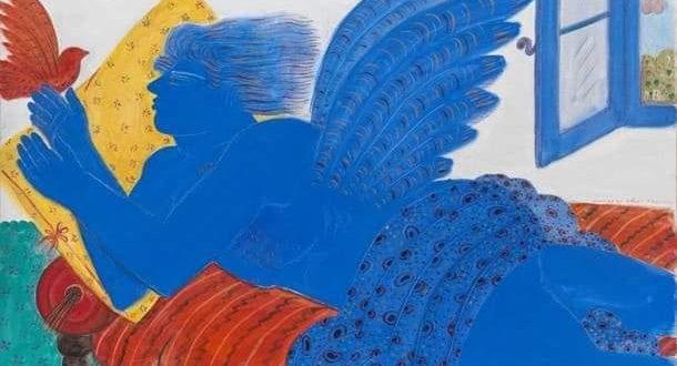 Αλέκος Φασιανός: Το μπλέ της ζωγραφικής του