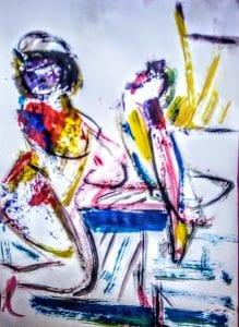 έκθεση ζωγραφικήςτης Μαρίας Χαντζοπουλου Βακιρτζή