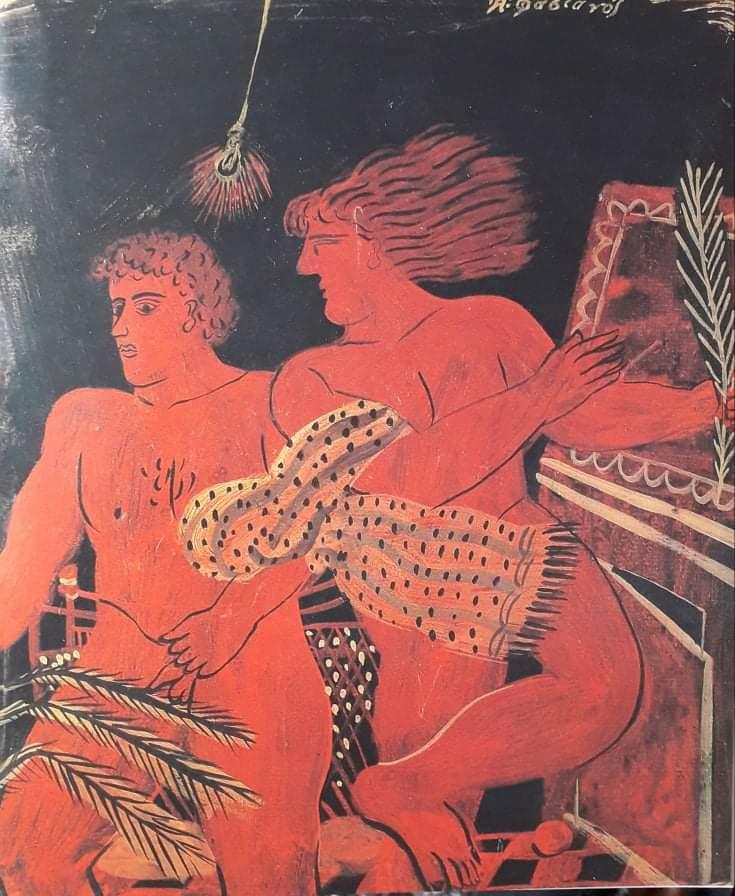 Ο θεατρικός συγγραφέας και πεζογράφος Γιώργος Μανιώτης, είχε μιλήσει για τον στένο φίλο και συνεργάτη του ζωγράφο Αλέκο Φασιανό.