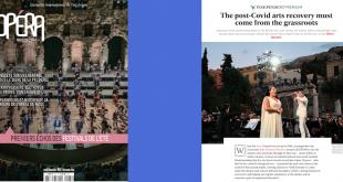 Εθνική Λυρική Σκηνή independent Opéra Magazine