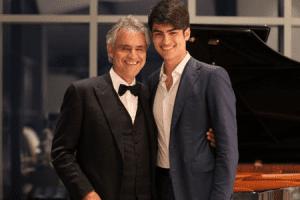 Μποτσέλι με γιο Ματέο