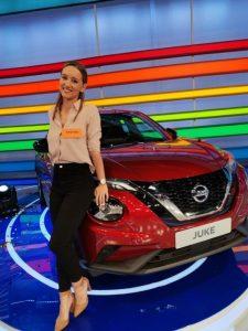 19χρονη Χριστίνα με το Nissan Juke στο Τροχός της Τύχης