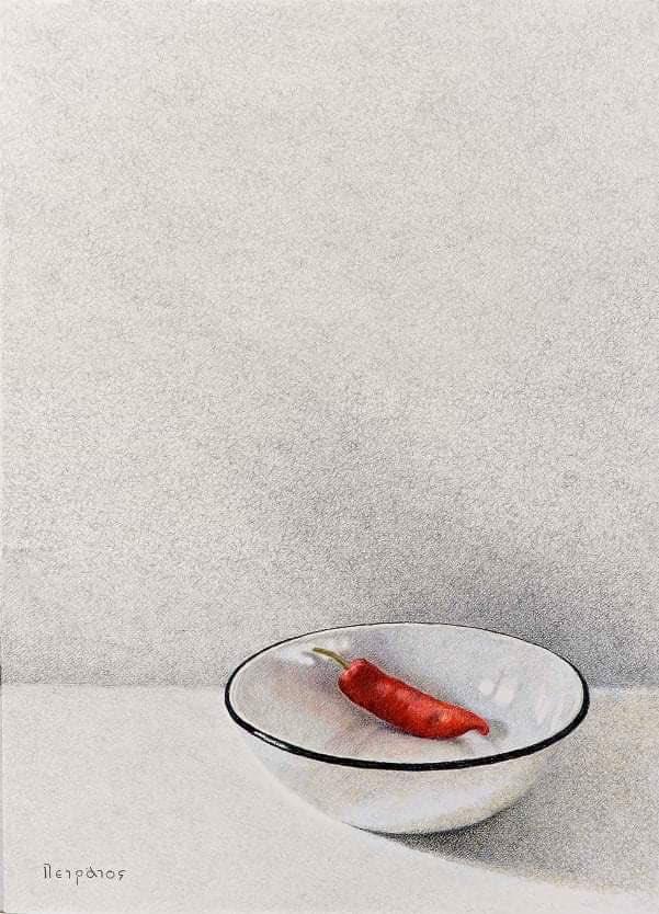 Ντίνος πετράτος μπολ με πιπεριά