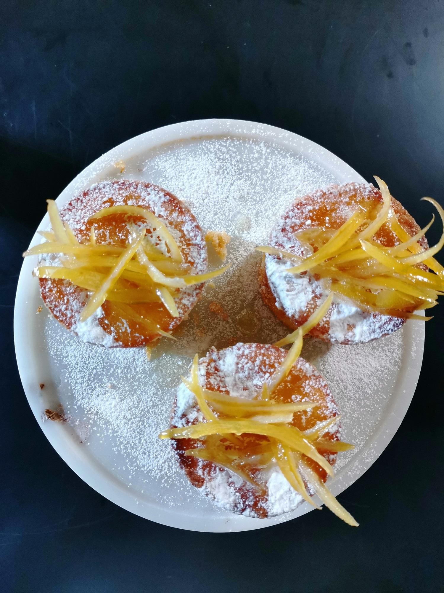 ζαχαρωμένες φλούδες λεμονιού