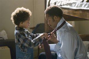 Ο Will Smith με τον γιο του στην ταινία το Κυνήγι της Ευτυχίας
