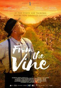 1ο διεθνές φεστιβάλ κινηματογράφου και γαστρονομίας from the vine poster