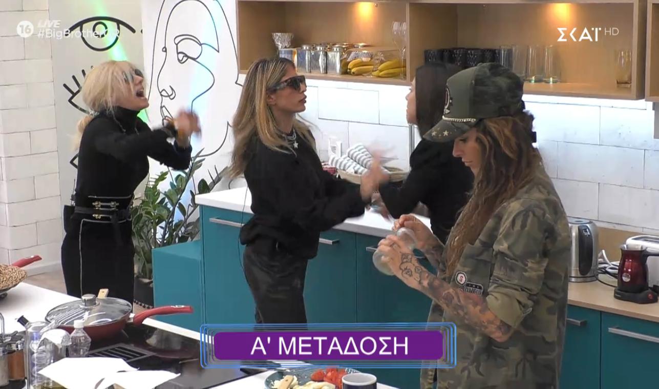 Big Brother 2020: Κόντρα