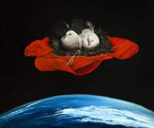 Περιστέρια στο διάστημα