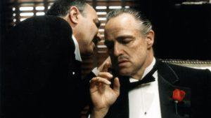 Ο Μάρλον Μπράντο στην ταινία Νονός από τις καλύτερες όλων των εποχών