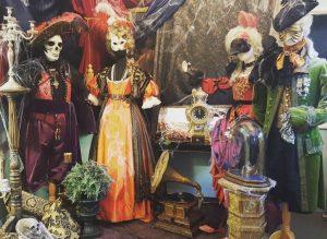 Halloween covid-19 μαγαζί