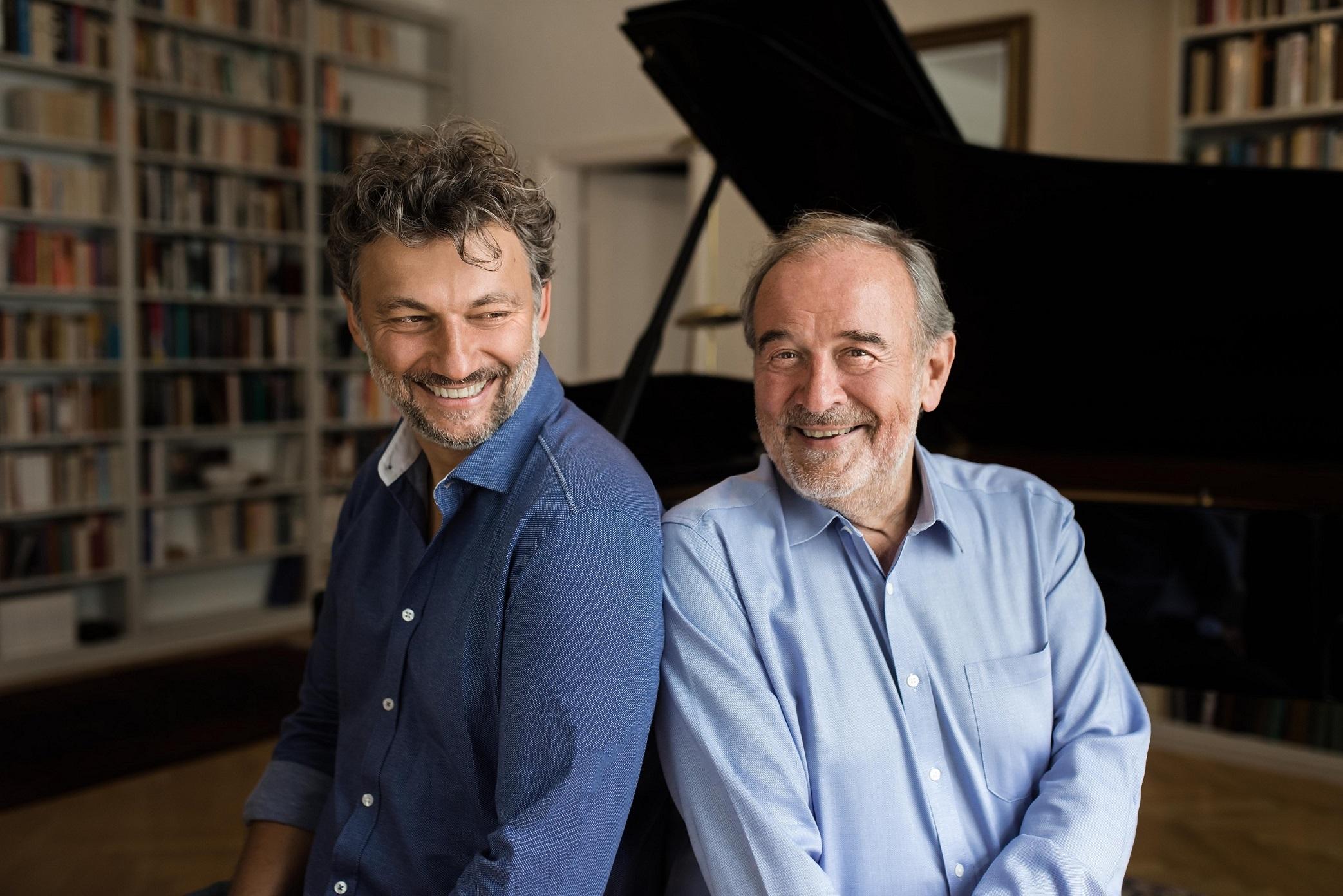τενόρος Jonas Kaufmann και Helmut Deutsch Μέγαρο Μουσικής