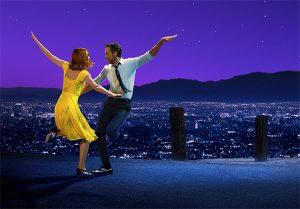 Η αφίσα της ταινίας La La Land που διατίθεται στο Netflix και αξίζει να δεις