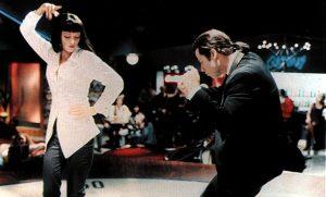 Σκηνή από μία από τις καλύτερες ταινίες όλων των εποχών Pulp Fiction