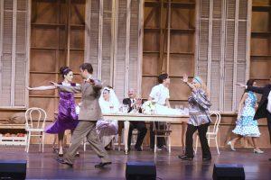 θέατρο rex ηθοποιοί χορεύουν