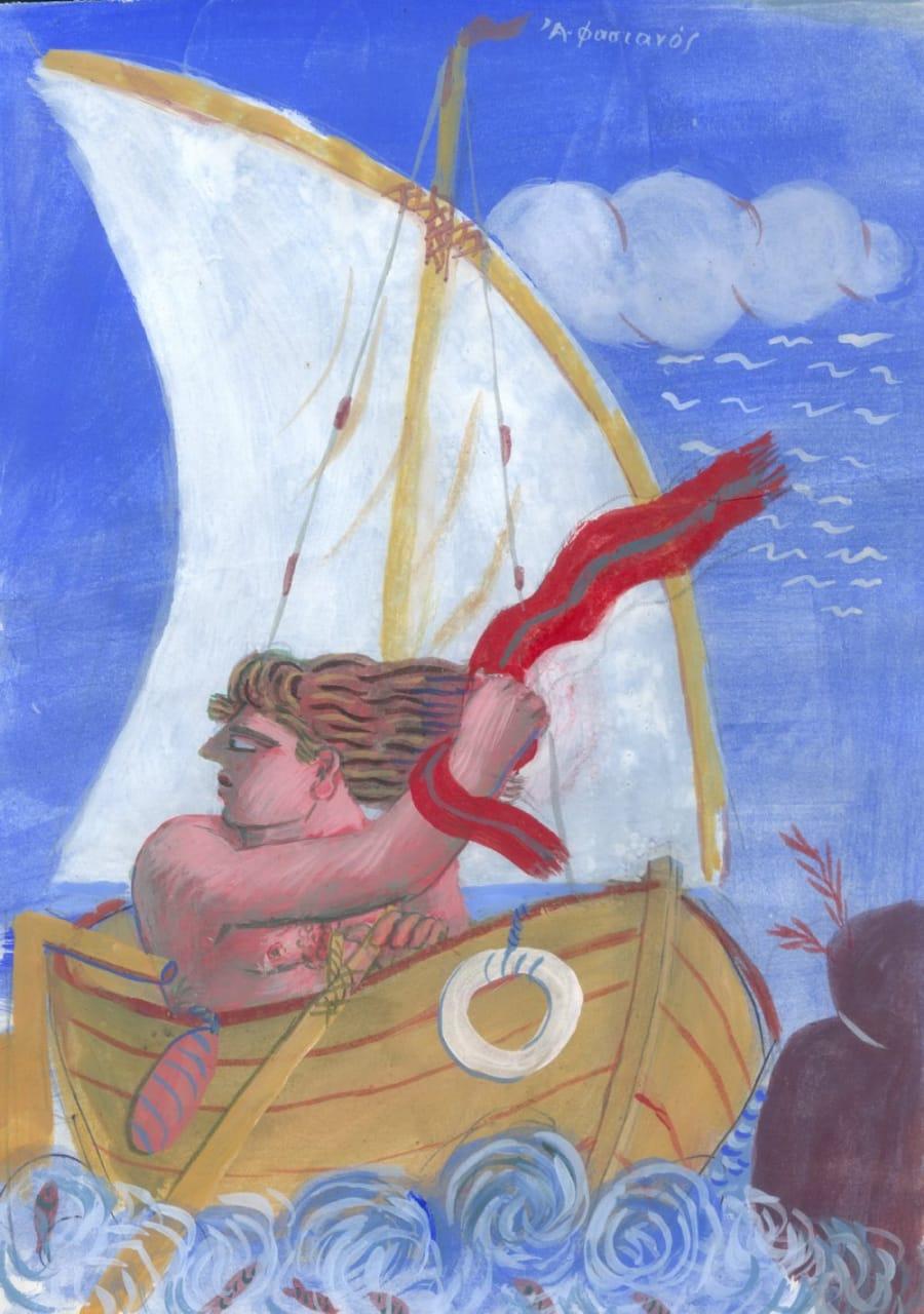 ποιητής Βαγγέλης Χρόνης ποιήματα στη φωτογραφια πινακας του Φασιανου