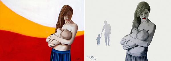 Ίδρυμα Εικαστικών Τεχνών Τσιχριτζή διαδικτυακή έκθεση - Πινακας-ζωγραφικης-SOURC1
