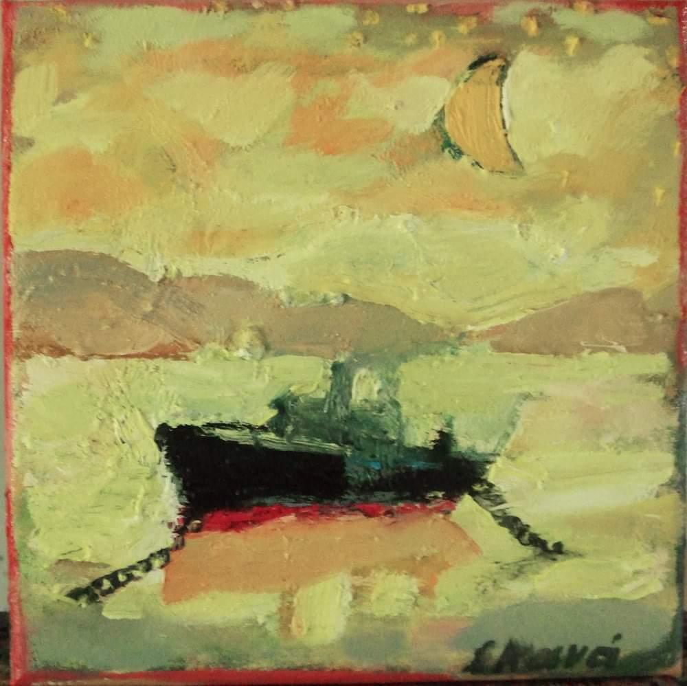 ζωγράφοι έργα καραντίνα Ειρηνη Κανά