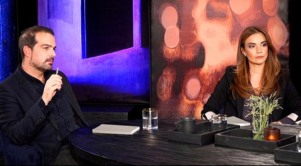 κπομπή Προσωπικά Έλενα Κατρίτση στη φωτο Άννα μπουσδουκου και γαβριηλ σακκελαριδης
