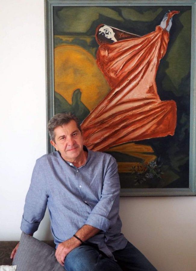 ζωγράφος Γιώργος Παστάκας ΩΔΕΣ Ανδρέα Κάλβου