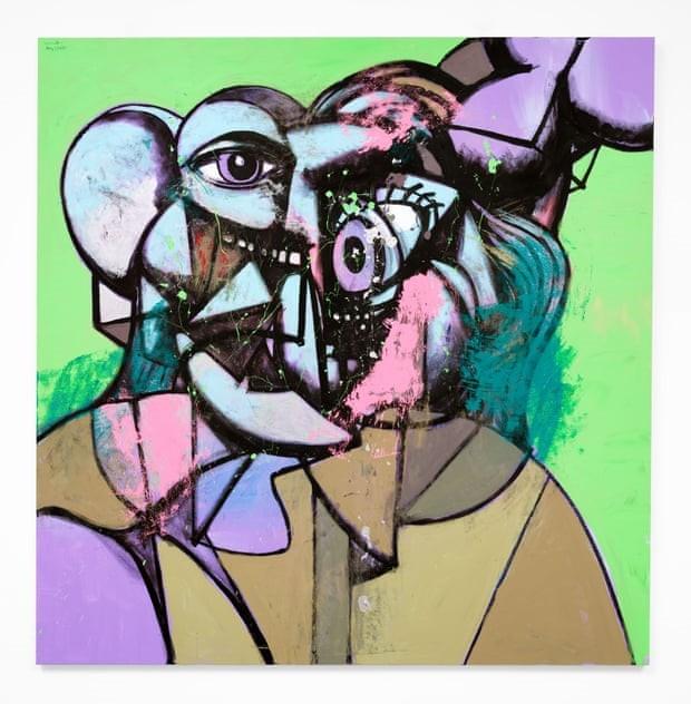 καλλιτέχνης Τζορτζ Κόντο - στη φωτογραφια ένα εργο του