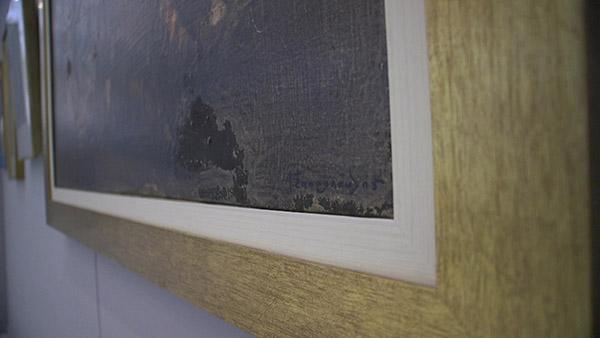 η υπογραφη του ζωγραφου Γιαννη ΣΠυροπουλου
