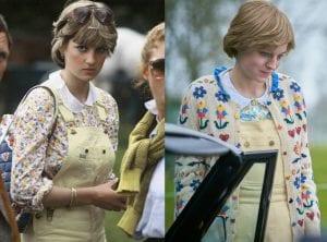 πριγκίπισσα Νταϊάνα πραγματικότητα The Crown με φλοράλ