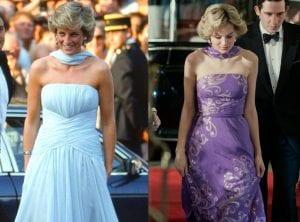 Η πριγκίπισσα με μακρύ φόρεμα