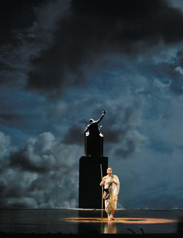 Σατυαγκράχα όπερα Φίλιπ Γκλας