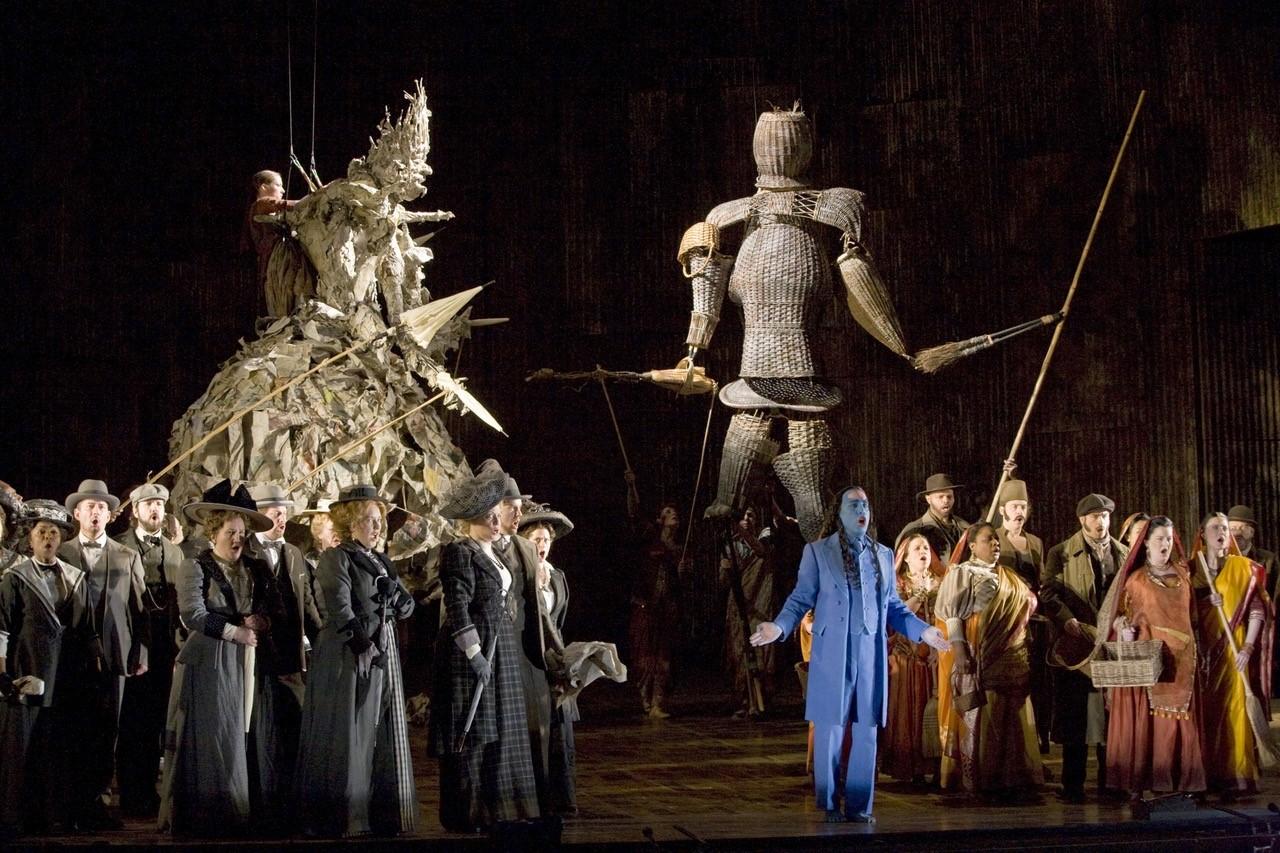 σκηνές από την οπερα Satyagraha