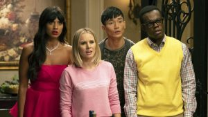 the good place σκηνή
