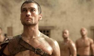 Σκηνή από το Spartacus