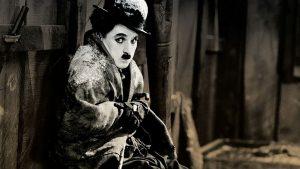 εικόνα από τον βουβό κινηματογράφο, ο τσάρλι τσάπλιν