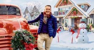Στιγμιότυπα από τη σειρά στόλισε το σπίτι σου με τον γκουρού των χριστουγέννων στο Netflix