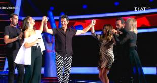The Voice of Greece: Το έριξαν στο χορό οι τέσσερις coaches