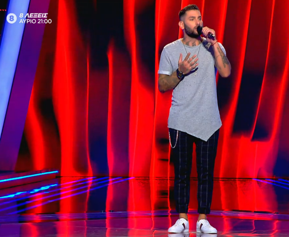 The Voice of Greece επεισόδιο χθες 8/11 9η Blind audition
