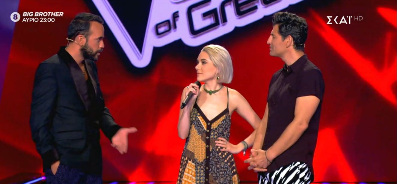 The Voice of Greece επεισόδιο χθες 8/11 9η Blind audition 19χρονη