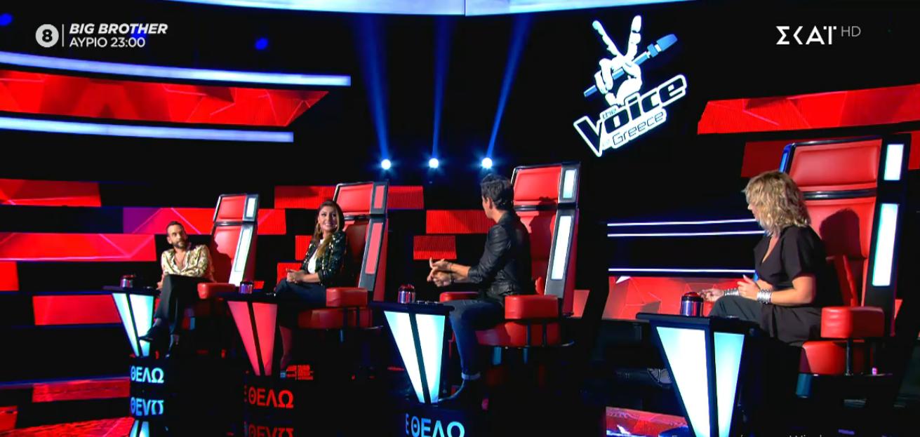 Voice of Greece: Όσα είδαμε χθες 15/11 στη 10η blind audition