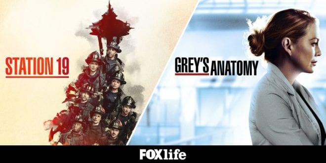 Station 19 Grey's Anatomy FΟΧ Life