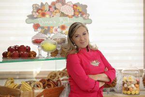 Εικόνα από το Dina's Bakery την εκπομπή του MEGA που κόπηκε