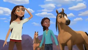 Spirit Riding Free παιδική ταινία