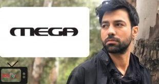 Ανδρέας Γεωργίου νέα σειρά mega - κολλάζ με το logo και τα ονόματα των ηθοποιών
