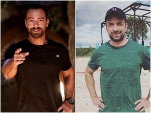 Survivor 2021 σύγκριση Λιανός και Τανιμανίδης κολλαζ και ατάκες παρουσιαστών