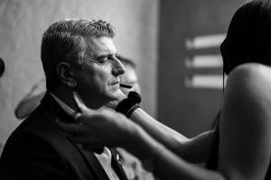 Ο Βλαδίμηρος Κυριακίδης σε backstage φωτογραφίες στο Σημείο Συνάντησης