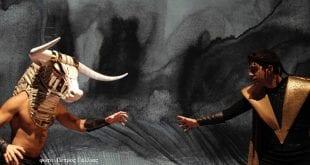 Ο Θησέας και ο Μινώταυρος Ρουγγέρη